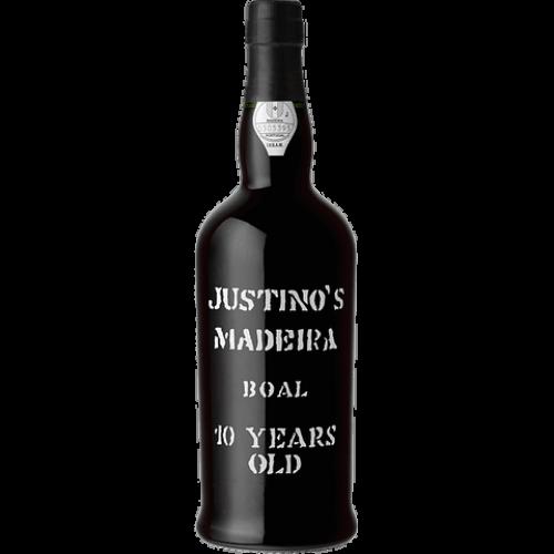 Vinho Madeira Justinos 10 Anos Boal Malvasia