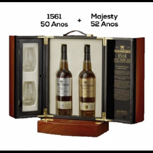 Whisky Higland Queen Century Edition Limited