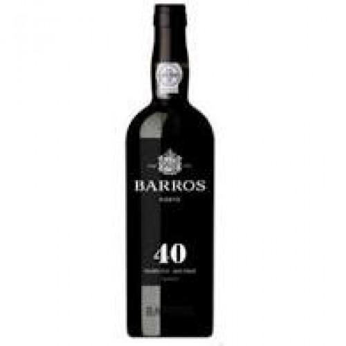 Vinho do Porto Barros 40 Anos