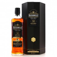 Whisky Bushmills 1990 New American OAK Finish 30 Year Old Causeway Collection