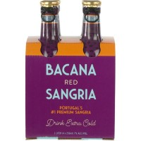 Sangria Bacana Red 250ML Pack4