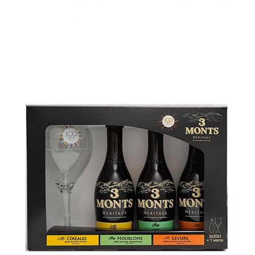 Cerveja 3 Monts 330ML Coffret  Heritage