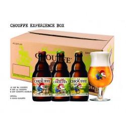 Cerveja Mc Chouffe Experience Box 330ML Com Oferta de 3 Copos