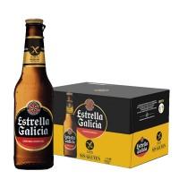 Pack 24 Cerveja Estrella Galicia Sem Gluten 330ML