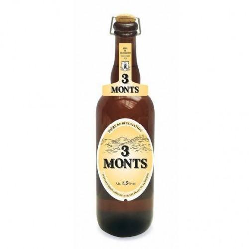 cerveja 3 monts 750 ML
