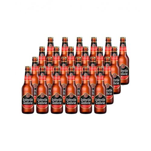 Pack 24 Cerveja Estrella Galicia 330ML