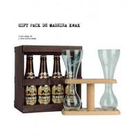 Cerveja Kwak Experience Box 330 ML Com Oferta 1 Copo