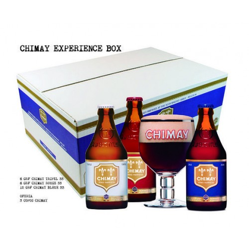 Cerveja Chimay Box Experience 330ML Com OFERTA de 3 Copos