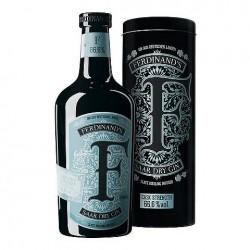 Gin Ferdinands Saar Dry Gin Cask Strenght 66.6% com Tubo
