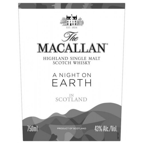 Whisky Macallan A Night On Earth