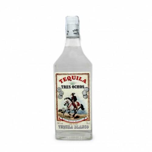 Tequila Tres Ochos Blanco