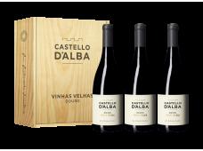 Conjunto Vinho Castello D´Alba Vinhas Velhas Tinto 750ML