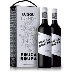 Conjunto 2 Gfas Vinho Pouca Roupa Tinto 750ML