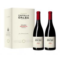 Conjunto Vinho Castello D´Alba Reserva Tinto 750ML