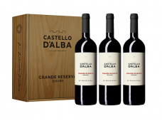 Conjunto Vinho Castello D´Alba Grande Reserva Tinto 750ML