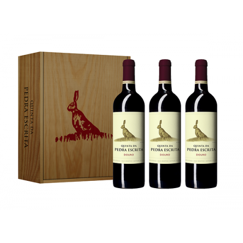 Conjunto Vinho Quinta da Pedra Escrita Colheita Tinto 750ML