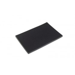 Tapete de Bar Mat Black 45/30Cm