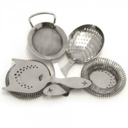 Bonzer Heritage Strainer Set Distressed Steal
