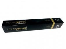 Café Cápsula Yourcoffe Gold (Caixa/10 Unidades)