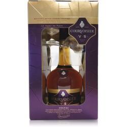 Cognac Courvoisier VS 700ML com 2 Copos
