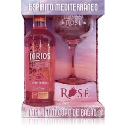 Larios Rose 700ML com Copo