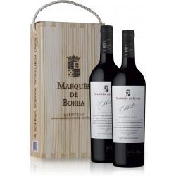 Conjunto 2 Garrafas Vinho Marques de Borba 750ML