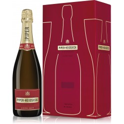 Champagne Piper Heidsieck Brut com 2 Flutes