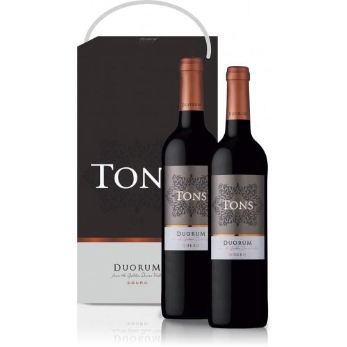 Conjunto 2 garrafas  Vinho Tons Duorum Tinto 750ML