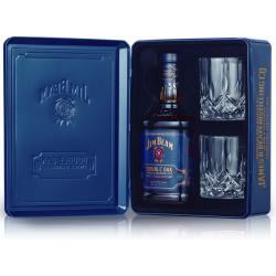Coffret Whisky Jim Beam Double Oak