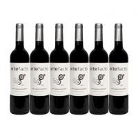 Pack 6 Garrafas Vinho Artefacto Tinto 750ML