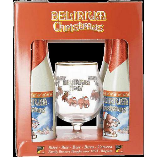 Cerveja Delirium Red 330 ML (4 Gfas + 1 Copo)