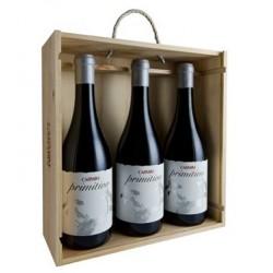 Conjunto 3 garrafas Vinho Alentejano Primitivo