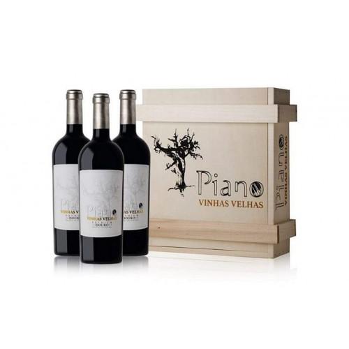 Vinho Piano Vinhas Velhas Premium 2015 3x700ML