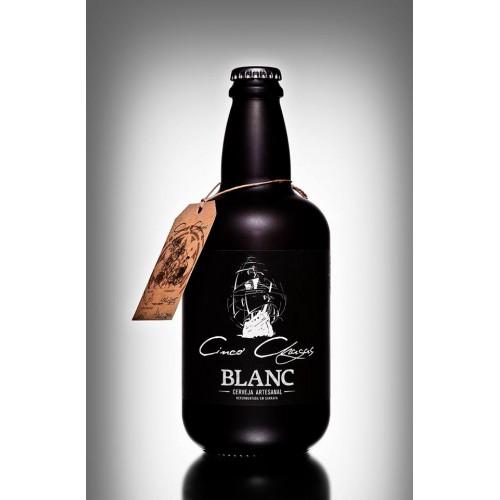 Cerveja Cinco Chagas BLANC 750ML
