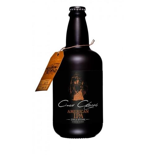 Cerveja Cinco Chagas American Ipa 750ML