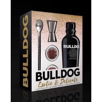 Pack Gin Bulldog Christmas Exotic & Delicate