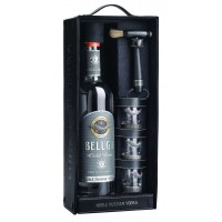 Vodka Beluga Gold Line 700ML Coff Cabedal