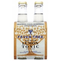 Fever Tree lemon Tonic Pack 4