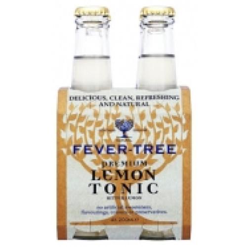 Fever Tree lemon Tonic Pack 4
