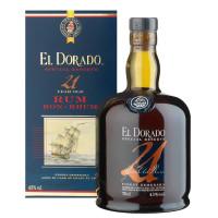 Rum El Dorado Especial Reserva 21 Anos 700ML