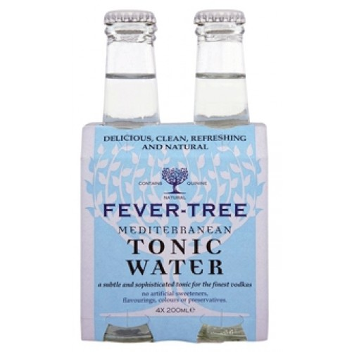 Fever Tree Mediterranean Tonic ( Pack 4 )