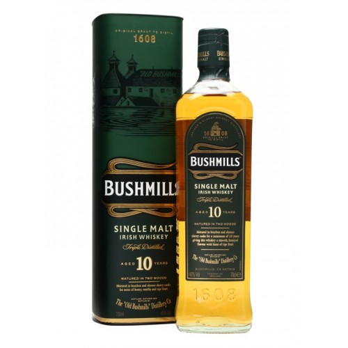 Whisky Bushmills Malt 10 Anos