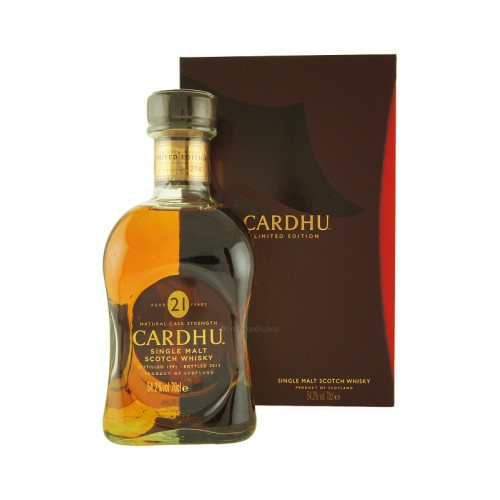 Whisky Cardhu 21 Anos Limited Edition
