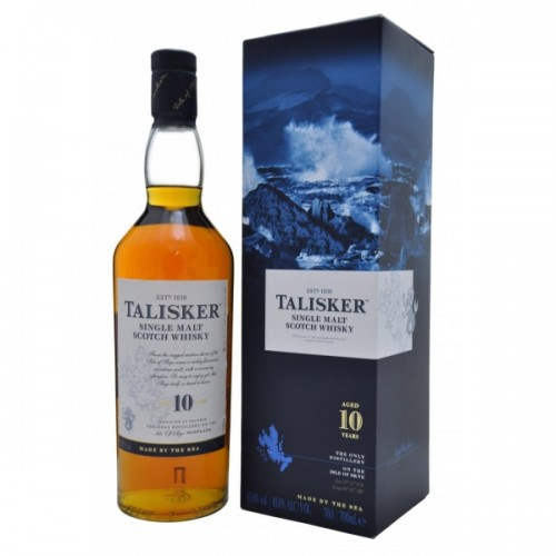Whisky Talisker 10 Anos Single Malte
