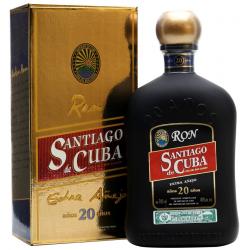 Rum Santiago de Cuba 20 Anos Extra Anejo