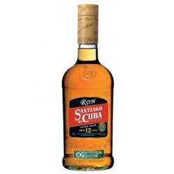 Rum Santiago de Cuba 12 Anos Extra Anejo